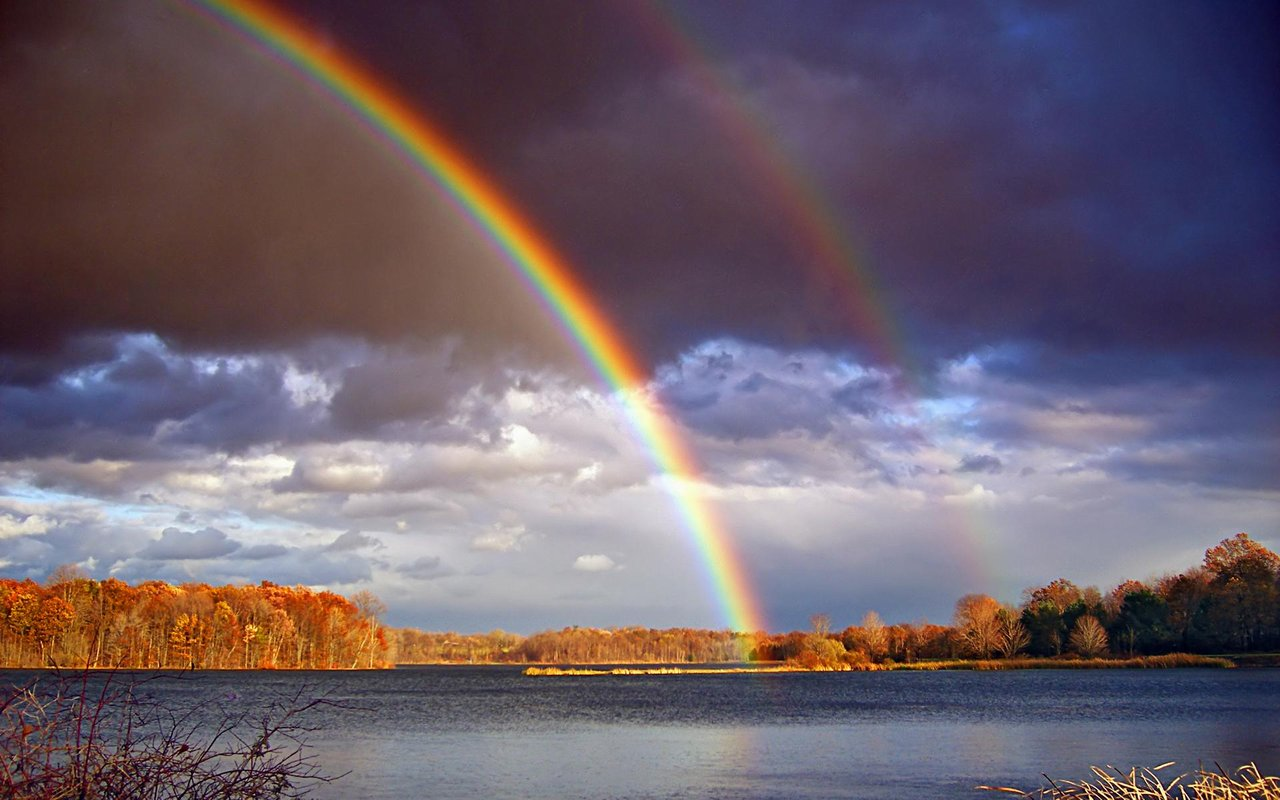 Rainbow nature wallpaper hd wallpapers images rainbow nature wallpaper pertaining to rainbow hd wallpapers page 0 high resolution wallarthd vivid yes tangible no voltagebd Gallery