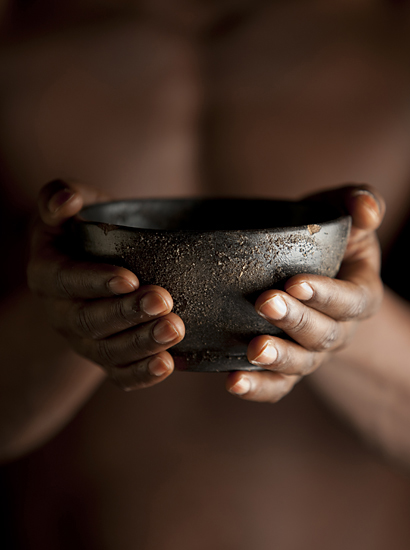 Begging bowl, the effects of economic sanctions.
